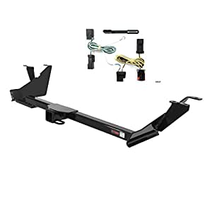 Curt 13389-55537 Trailer Hitch and Wiring Package