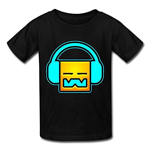 Losnger Kid's DJ Geometry Dash T Shirt