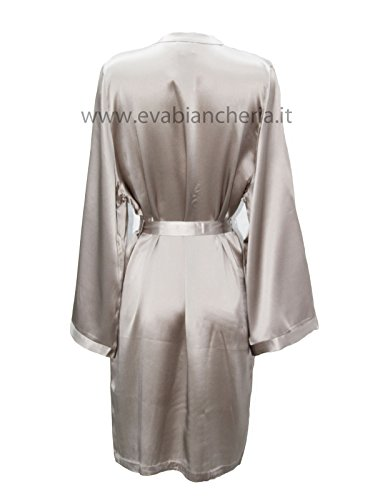 MARJOLAINE Kimono Corto in Pura Seta