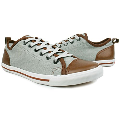 Burnetie Women's Grey Ox Vintage sneaker 10 M US