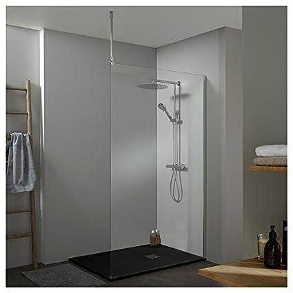 Dongyd Fer forg/é bois cuisine /étag/ère murale pendaison salle de bain /étag/ère salon cadre noir blanc 尺寸 Size : 60 * 20 * 45cm, 颜色 Color : Black