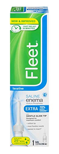 Fleet Enema Adult Extra Single 7.8 oz. (Pack of 3) - Packaging May Vary -  CF02011