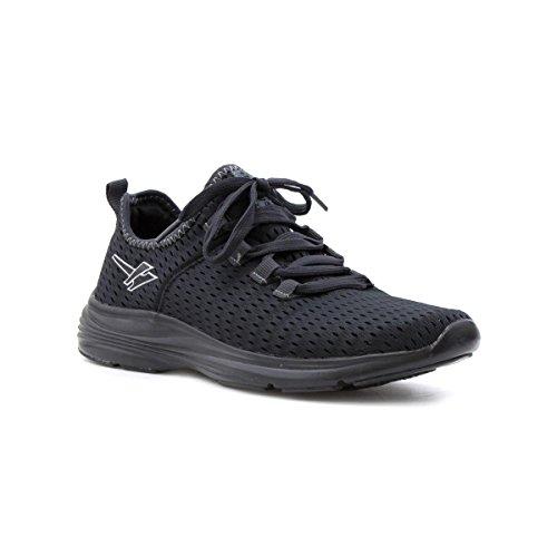 Gola Hombres Black Lace Lightweight Sneaker Black