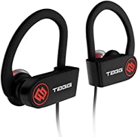 TAGG® Inferno, Wireless Bluetooth Earphone Headphone with Mic + Free Carry Case || Sweatproof Sports Headset, Best for Running and Gym || Stereo Sound Quality with Ergonomic-Design [[NEW RELEASE]]