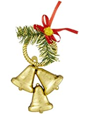 Bell Shaped Christmas Decoration with Bowtie