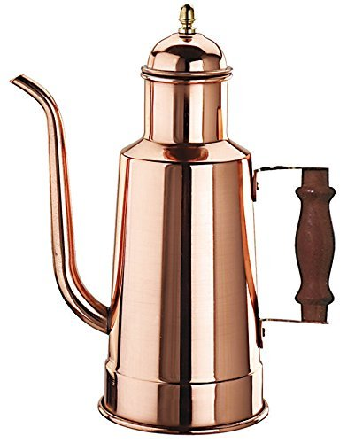 Paderno World Cuisine 41781-15 Oil Dispenser with Wood Handle, Copper
