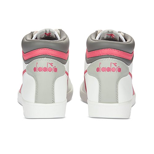 High PARADISE C6017 ROUGE BLANC Baskets Diadora P Hautes Game Homme zgwTqE