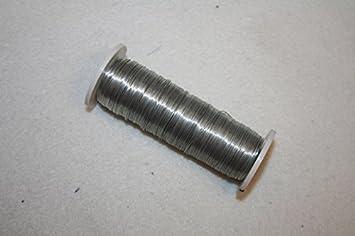 1 Rolle dünner Draht 26iger Stärke 45m ideal für Knopflöcher ...