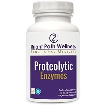 Amazon Com Proteolytic Enzymes 100 Vegetable Capsules