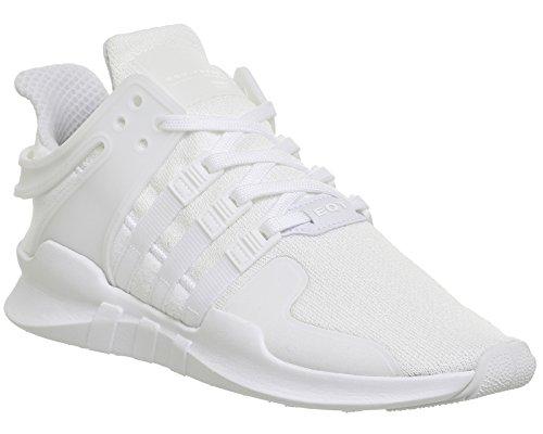 adidas EQT Support ADV, Scarpe da Ginnastica Unisex – Adulto Bianco (Ftwr White/Ftwr White/Core Black)