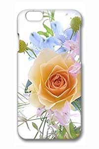 Beautiful Yellow Roses Slim Hard For Iphone 6Plus 5.5Inch Case Cover Case PC 3D Cases