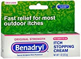 Benadryl Itch Stopping Cream, Original