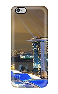 1713324K74629782 Tpu Case For Iphone 6 Plus With Marina Bay Sands