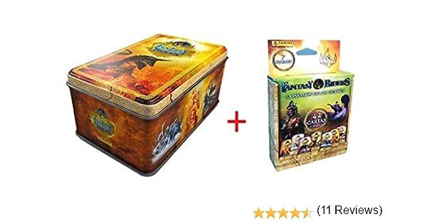Tin Box 50 Cartas Fantasy Riders + BLISTERS 7 Sobres TARDING Cards ...