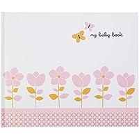 """C.R. Gibson Blossom Baby Girl Libro de memoria de 72 páginas para recién nacidos, 11 """"x 9"""""""