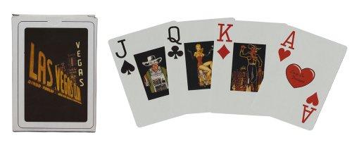 Playing Cards - Las Vegas Vintage Deck Poker Size Jumbo Index ()