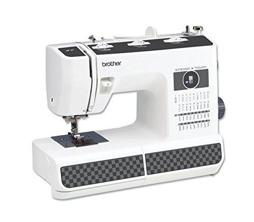 BROTHER Komfort Nähmaschine HF37 mit Aufspulautomatik und automatischer Nadeleinfädler