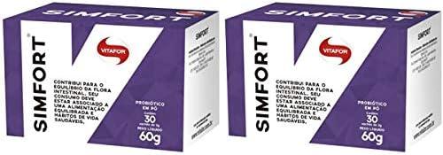 Simfort - 2 unidades de 30 Sachês de 2 Gramas - Vitafor