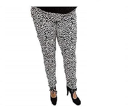 4c5816dcc82 holidaysuitcase-Ladies Womans Plus Size Leopard Print Stretch Skinny Jeans   Amazon.co.uk  Clothing