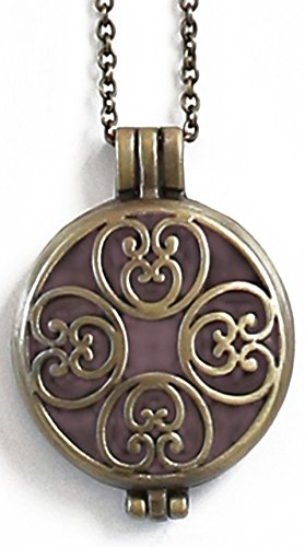 Aromatherapy Diffuser Necklace Pendant Essential