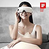 Breo iSee4 Electric Portable Eye Massager with Heating Air Pressure Music Vibration, Shiatsu Massager for Dry Eye Eyestrain Fatigue Relief