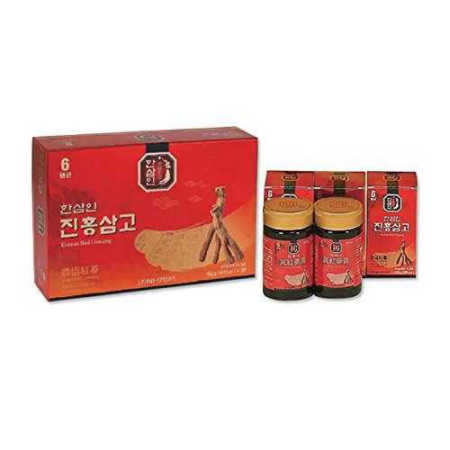 NH HANSAMIN Red Ginseng Extract 250g / Bottle Health Functional Food Supplement Herbal Fatigue Recover Made in Korea (1) by Hansamin