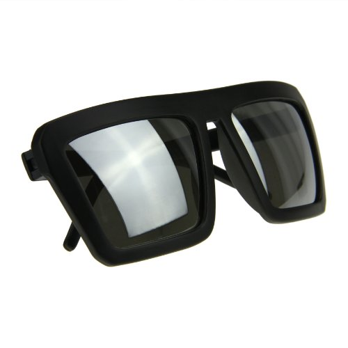 BXT de Frame hombre para Black Gafas Lens sol Silver Matte wqg7wF
