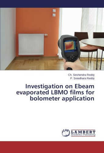Investigation on Ebeam evaporated LBMO films for bolometer application