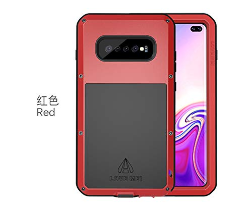Amazon.com: Love MEI Galaxy S10 Plus Case,Galaxy S10+ Metal ...