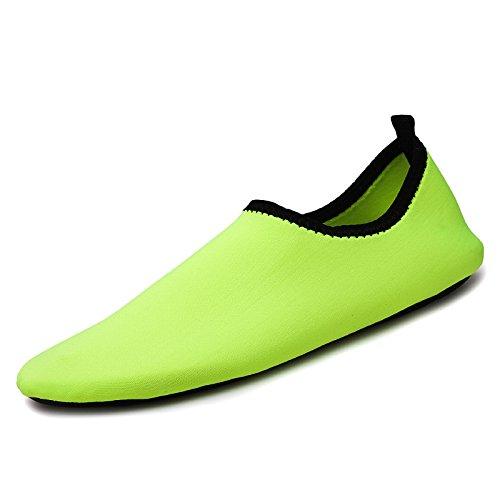 calzado antideslizante Natación descalzo deportivos al aire playa piel de cuidado cintas en zapatos el los de correr la verde libre zapatos buceo la Lucdespo Sk7 dtEByTqE