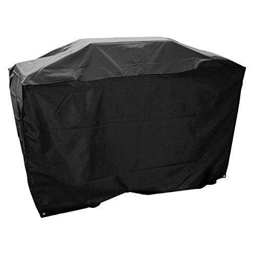 138 x 64.2 x 110 cm Grillabdeckung Grillhaube Barbecue BBQ Grill Abdeckhaube Gasgrill Schutzhülle Haube Abdeckung,wasserdicht ,lichtbeständig und staubdicht,schwarz