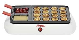 Bestron DLD5070 - Máquina para hacer poffertjes (dulces holandeses)