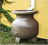 Best Rain Barrels - Kyoto 55 Gallon Sand-Stone-Look Rain Barrel UV Resistant Review