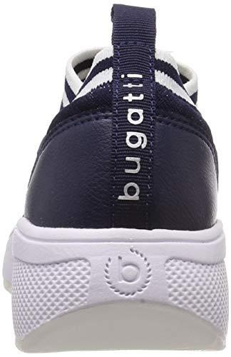 Silver Blue Bleu Femme Bugatti dark 4113 Enfiler Baskets 432640606959 xqp04F