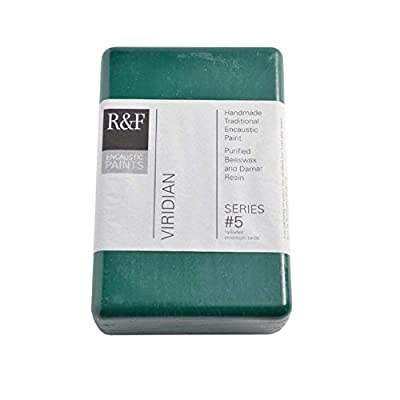 R&F Encaustic 333ml Paint, Viridian