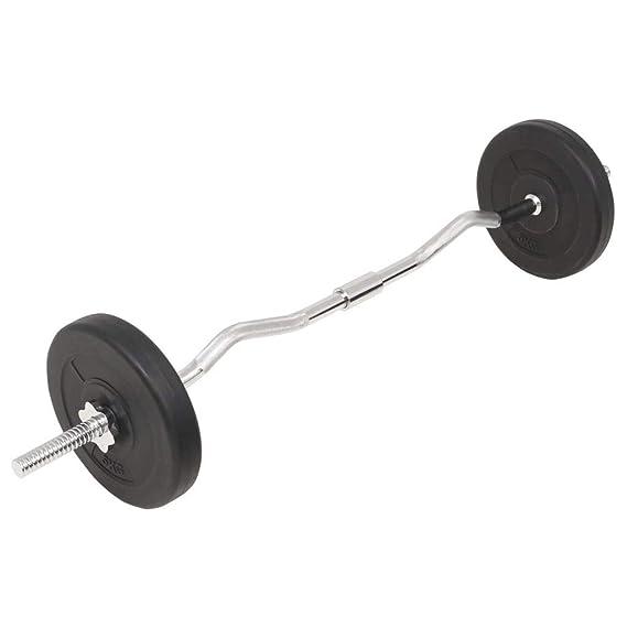 Tidyard Conjunto de Mancuernas Ajustables 30kg para Entrenar Pecho Bíceps Brazos Tríceps y Los Músculos Negro: Amazon.es: Hogar