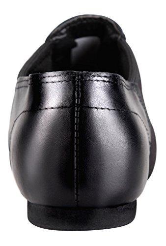 Tent-Leather-Upper-Jazz-Shoe-Slip-on
