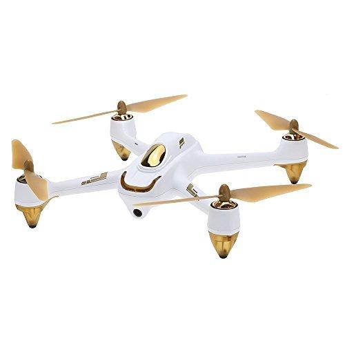 Hubsan H501S X4 5 8G FPV ホワイト&ゴールド (生中継 動画 リアルタイム) GPS 1080P HD カメラ RC ドローン ラジコン クアッドコプター マルチコプター フォローミーモード ヘッドレスモード オートリターン機能の商品画像