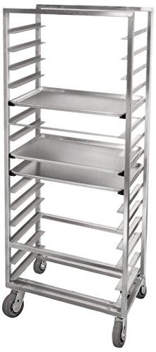 Channel Manufacturing AXD2815 15 Pan Side Load Heavy-Duty Aluminum Bun / Sheet Pan Rack - Assembled