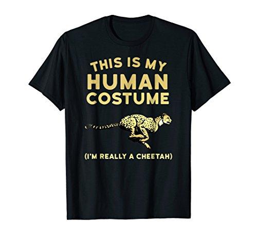 Cheetah Shirt for Boys Girls Women & Men - Human Costume -