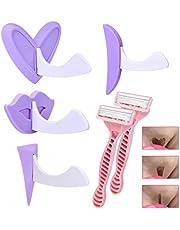VZOM Nieuw design bikini trimmer scheerapparaat voor vrouwen - bikini scheersjabloon - schaamhaar scheermes - speciaal privé-vormgereedschap (hart, recht, driehoek)