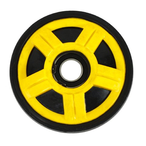 (Ski Doo 141 Mm Yellow Idler Wheel)