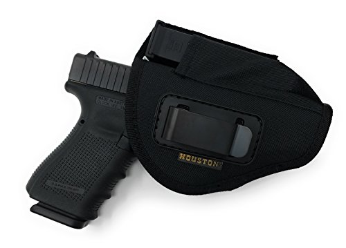Nylon Ambidextrous Gun + Mag Tactical Holster by Houston | IWB and Outside | (Large)