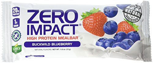 VPX Zero Impact High Protein Mealbar, Buckwild Blueberry, 12 Count For Sale