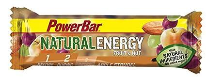 Barrita Energética Natural Energy Frutas PowerBar 24 Barritas x 40g Pastel de Manzana