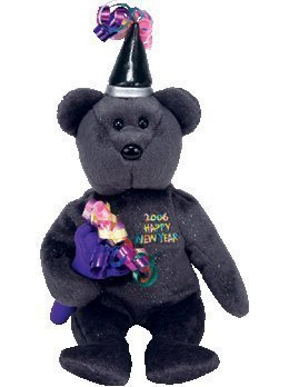 Ty Beanie Baby - 2006 The New Years Bear (Internet Exclusive) ()