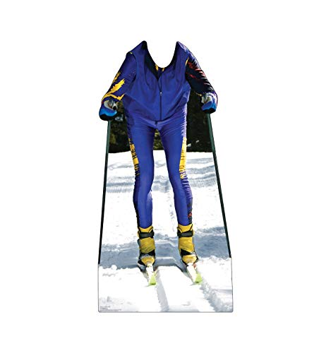 Advanced Graphics Cross Country Skier Stand-in Life Size Cardboard Cutout Standup