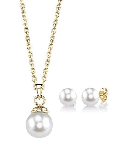 Japanese Akoya Pearl Pendant - 9