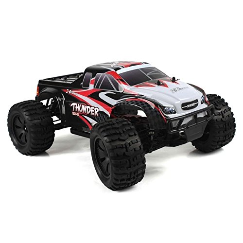 Toy, Play, Game, New ZD Racing Car 10427-S 1:10 Big Foot RC Truck Monster RTR 2.4G 4WD Splashproof ESC 3.5kg High-torque Servo Shock Resistant, Kids, Children