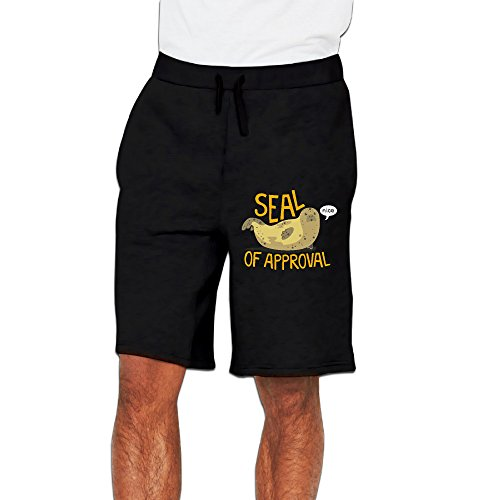 Seal Of Approval Mens Short Sweatpant Short Pants For Running